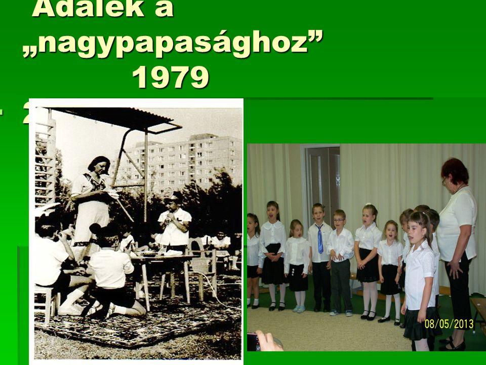 "Adalék a ""nagypapasághoz"" 1979 2013 Adalék a ""nagypapasághoz"" 1979 2013 "