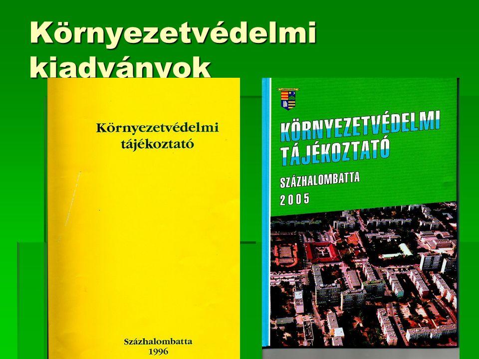 Környezetvédelmi kiadványok