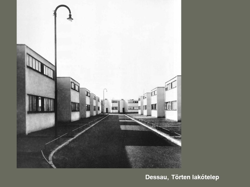 Dessau, Törten lakótelep