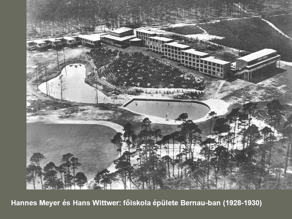 Hannes Meyer és Hans Wittwer: főiskola épülete Bernau-ban (1928-1930)