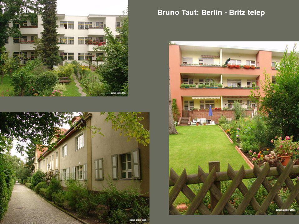 Bruno Taut: Berlin - Britz telep