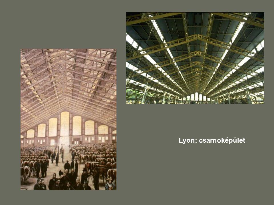 Lyon: csarnoképület