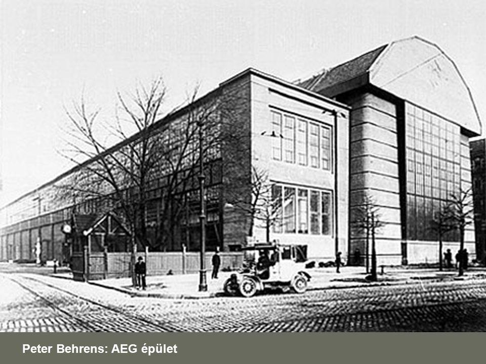 Peter Behrens: AEG épület