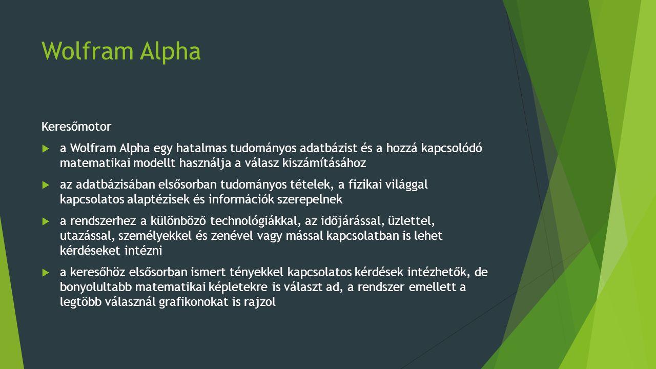 Wolfram Alpha