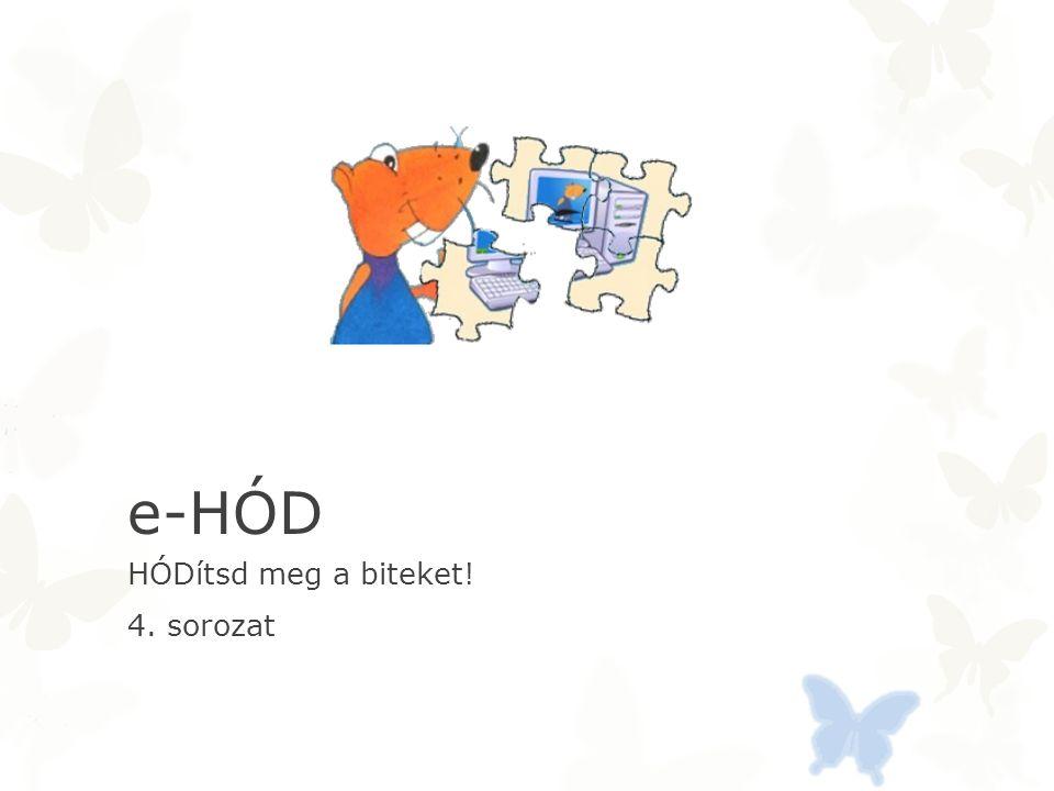 e-HÓD HÓDítsd meg a biteket! 4. sorozat