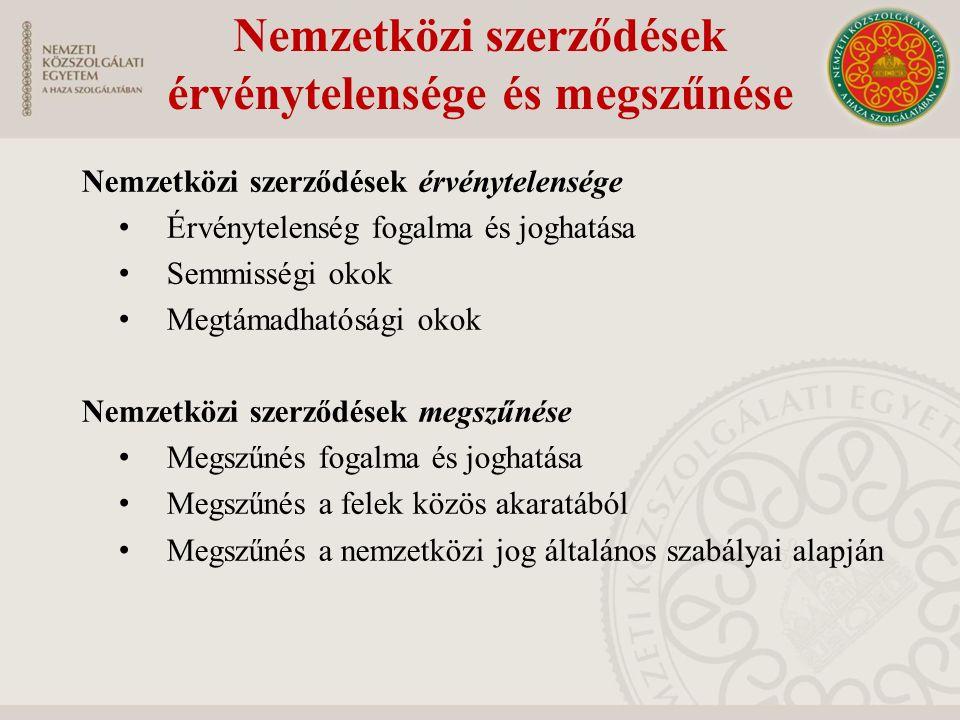 Az uniós jog helye a magyar jogrendszerben Milyen főbb megállapítások vonhatók le az Alaptörvény Alapvetés fejezet E.