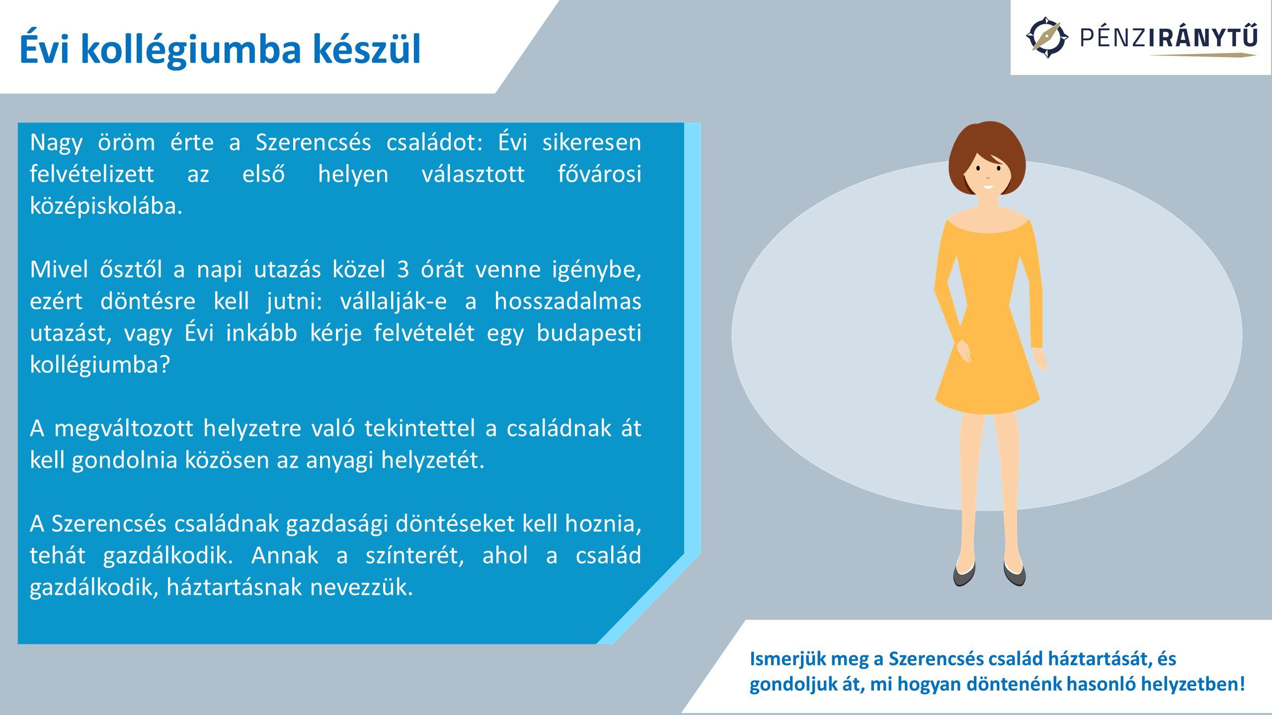 Évi kollégiumba készül A kollégiumi ellátás 1 hónapra 18 ezer forintba kerül, a távolsági bérlet és a BKV-bérlet ára együtt 8 ezer forint lenne.