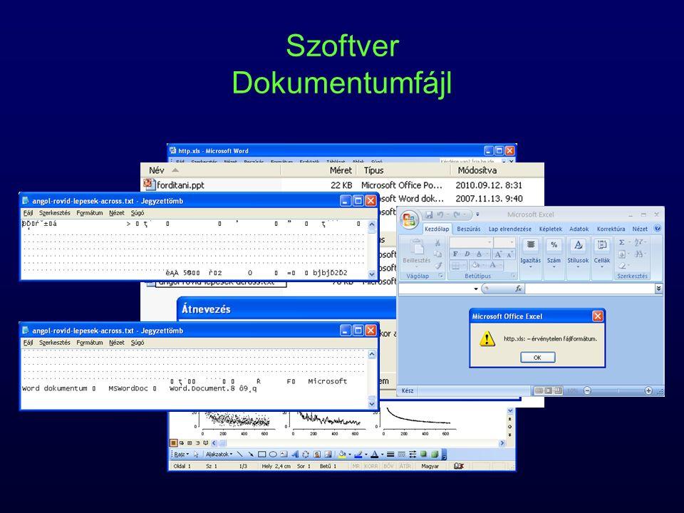 Szoftver Dokumentumfájl
