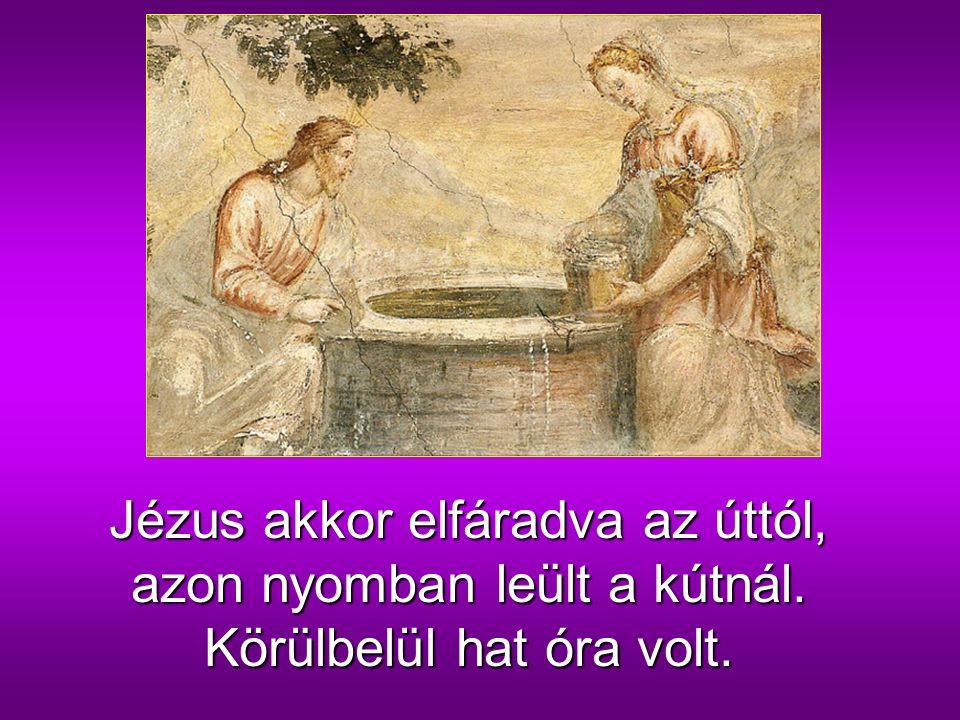 Jézus megérkezett Szamaria egyik városába, amelyet Szikarnak neveznek, közel ahhoz a földdarabhoz, amelyet Jákob a fiának, Józsefnek adott.