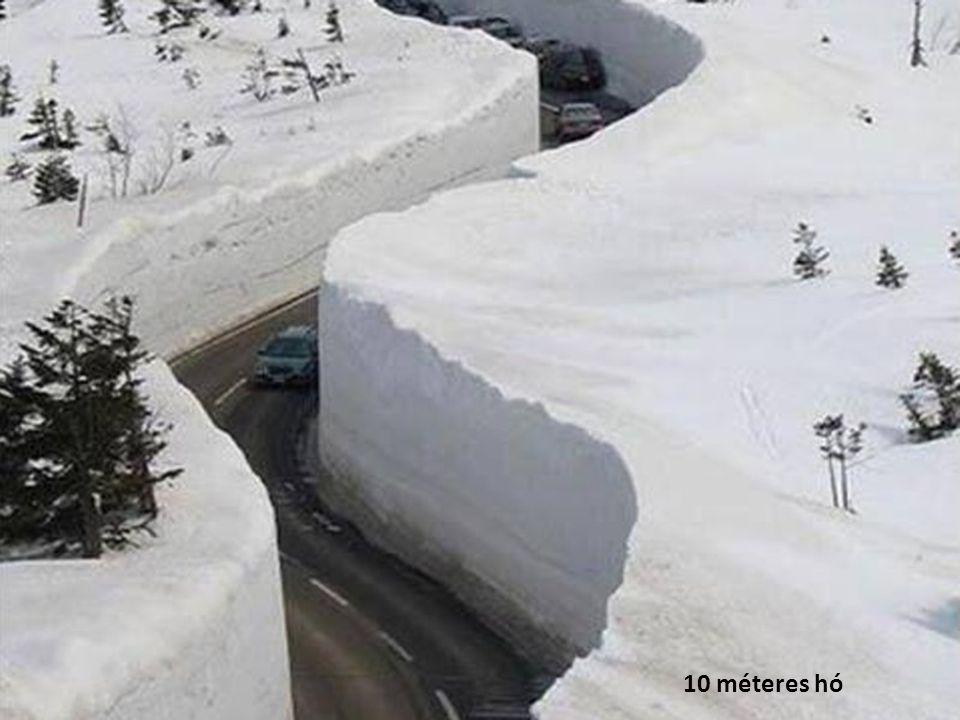 10 méteres hó