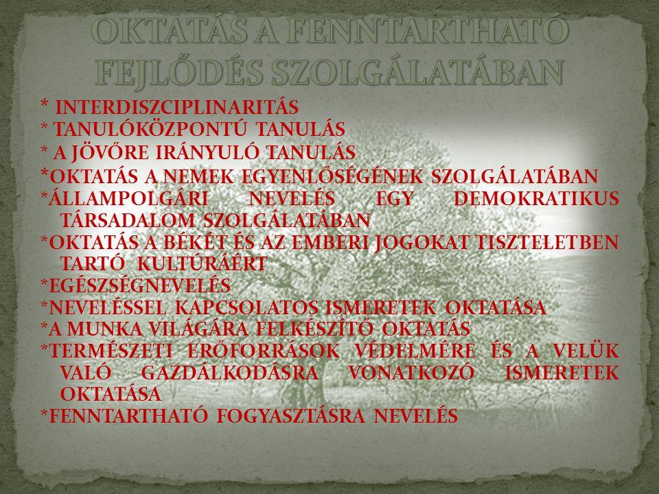 A TANULÁS MINDEN FORMÁJA VÁLTOZATOS KÖRNYEZETI TARTALOMMAL BÍR *AZ UTÁNZÁSOS, MINTA- ÉS MODELLKÖVETÉSES MAGATARTÁS- ÉS VISELKEDÉSTANULÁS (SZOKÁSOK ALAKITÁSA) – KÖRNYEZETTUDATOSSÁG *A SPONTÁN, JÁTÉKOS TAPASZTALATSZERZÉS – A VILÁG FELFEDEZÉSE *A CSELEKVÉSES TANULÁS – VÁLTOZATOS TEVÉKENYSÉGEK *A GYERMEKI KÉRDÉSEKRE, VÁLASZOKRA ÉPÜLŐ ISMERETTERJESZTÉS – IGAZ ÉS VALÓDI *AZ ÓVODAPEDAGÓGUS ÁLTAL IRÁNYÍTOTT MEGFIGYELÉS, TAPASZTALATSZERZÉS.