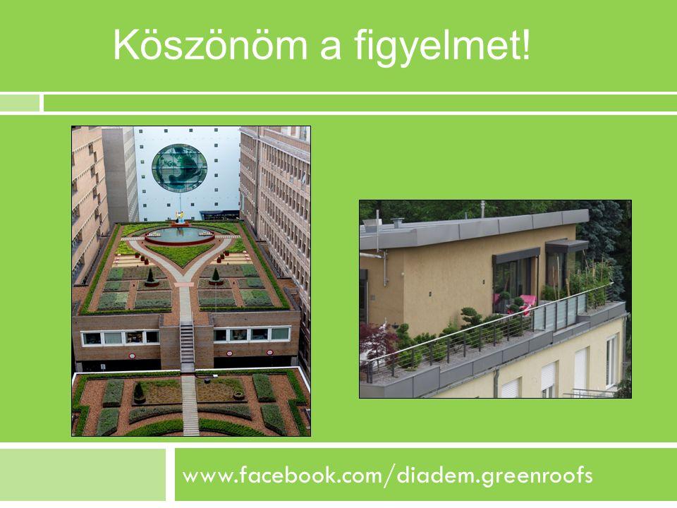 www.facebook.com/diadem.greenroofs Köszönöm a figyelmet!