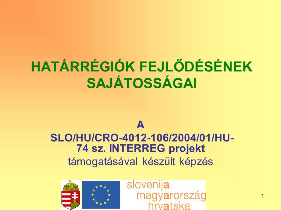 12 Egyéb támogatási lehetőségek Közösségi kezdeményezések: Több tagállam és régió közös problémái INTERREG III: a határon átnyúló, régióközi és nemzetek közötti együttműködés fejlesztésére; URBAN II: innovatív fejlesztések a városokban és a városnegyedekben; LEADER+: a vidékfejlesztési kezdeményezések előmozdítására; EQUAL: a munkaerő-piaci diszkrimináció elleni küzdelemre.