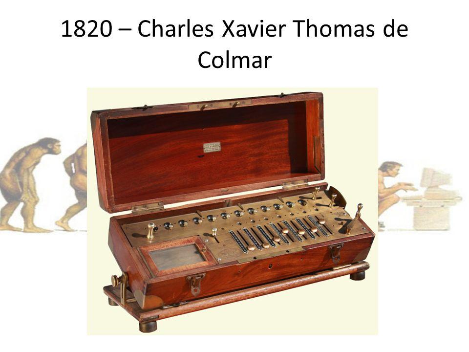 1820 – Charles Xavier Thomas de Colmar
