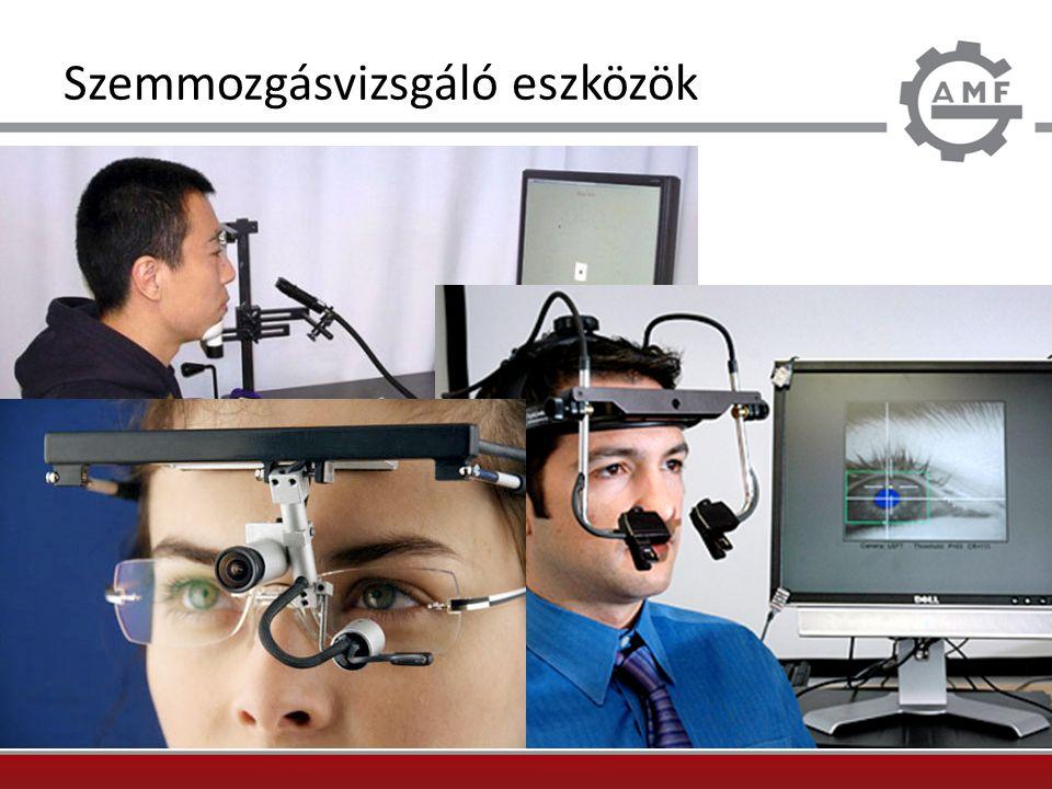 Szemmozgásvizsgáló eszközök