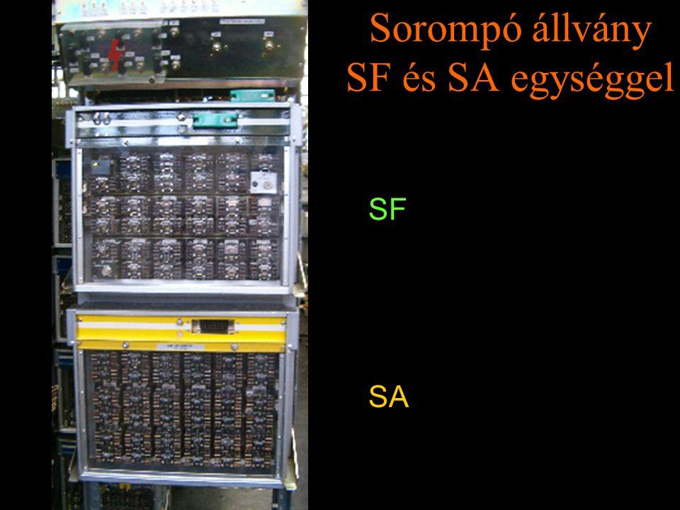 Rétlaki Győző: D70 szerkezeti elemek Sorompó állvány SF és SA egységgel SF SA