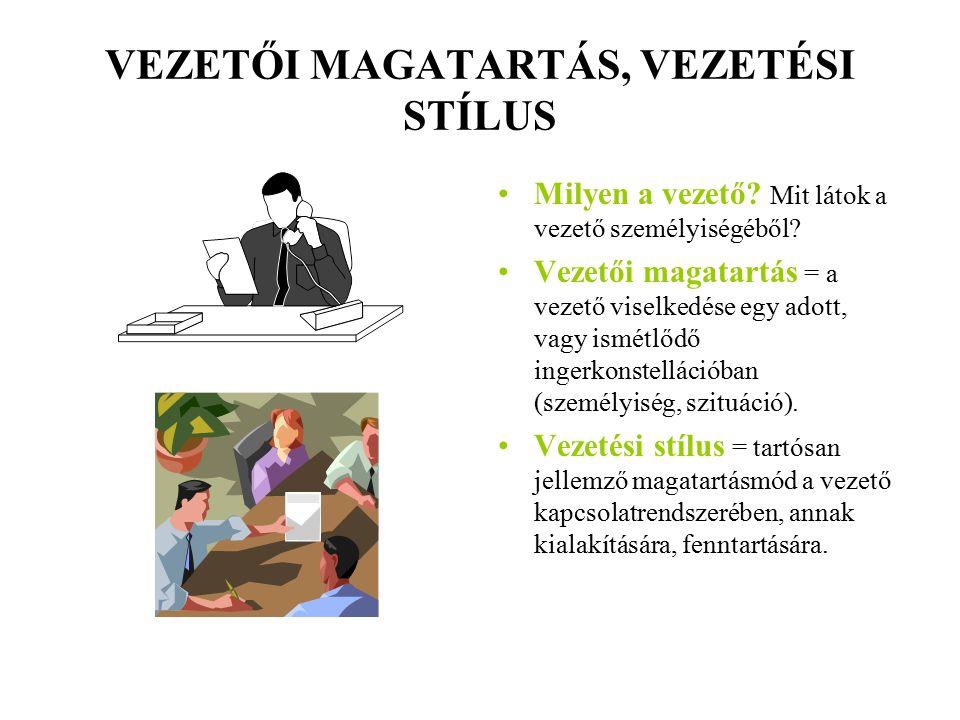 SZEMÉLYISÉG-VISELKEDÉS ELMÉLET 2.