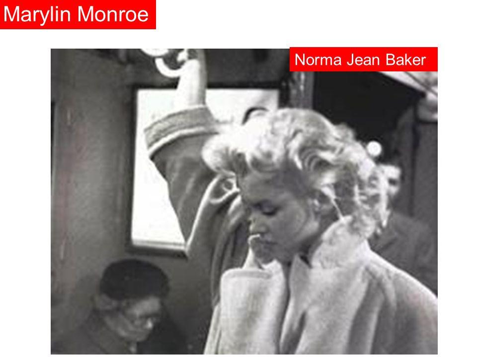 Marylin Monroe Norma Jean Baker
