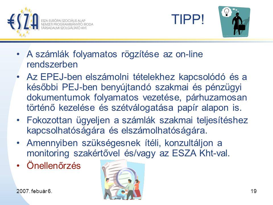 2007. febuár 6.19 TIPP.
