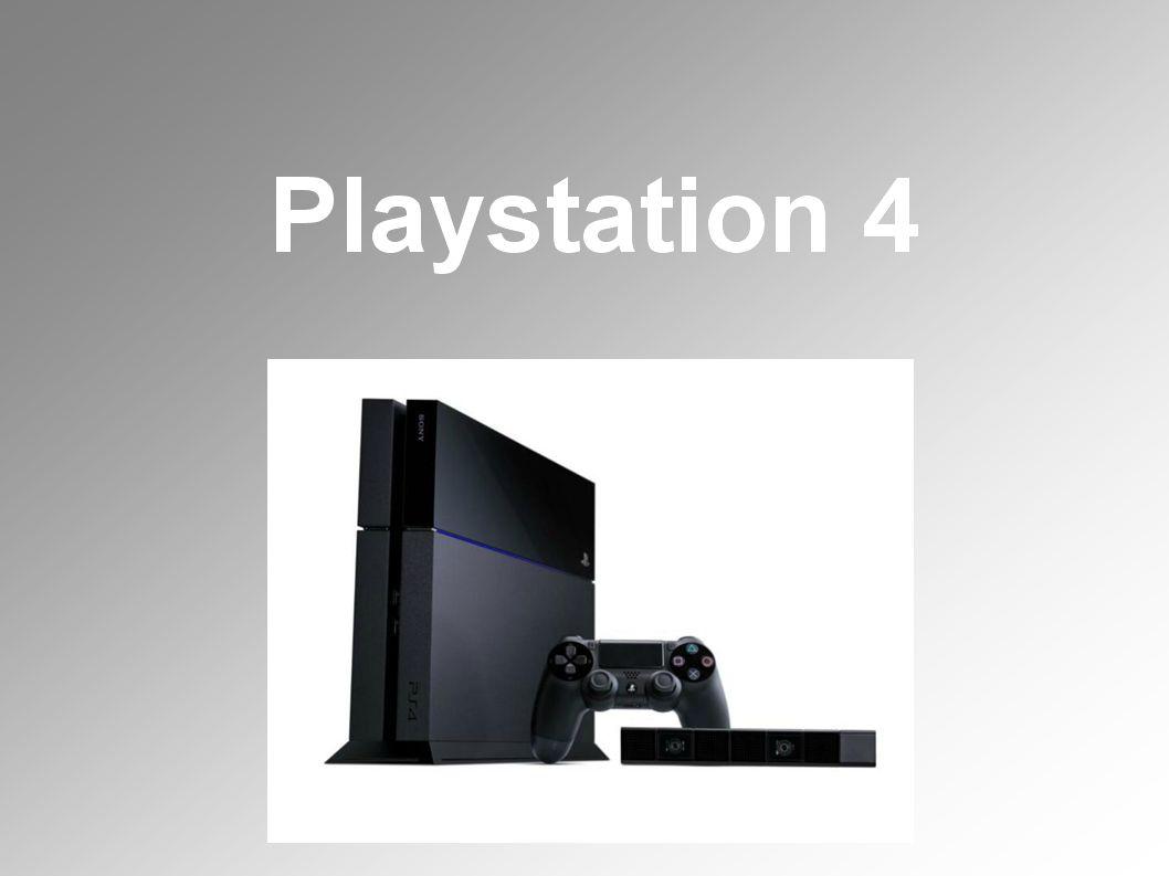 PlayStation 4 Sony Computer Entertainment Nyolcadik generációs videojáték-konzolja.