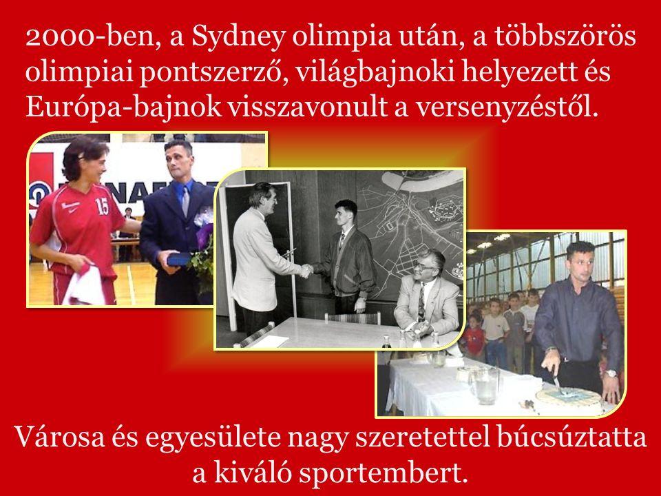 2000-ben, a Sydney olimpia után, a többszörös olimpiai pontszerző, világbajnoki helyezett és Európa-bajnok visszavonult a versenyzéstől.