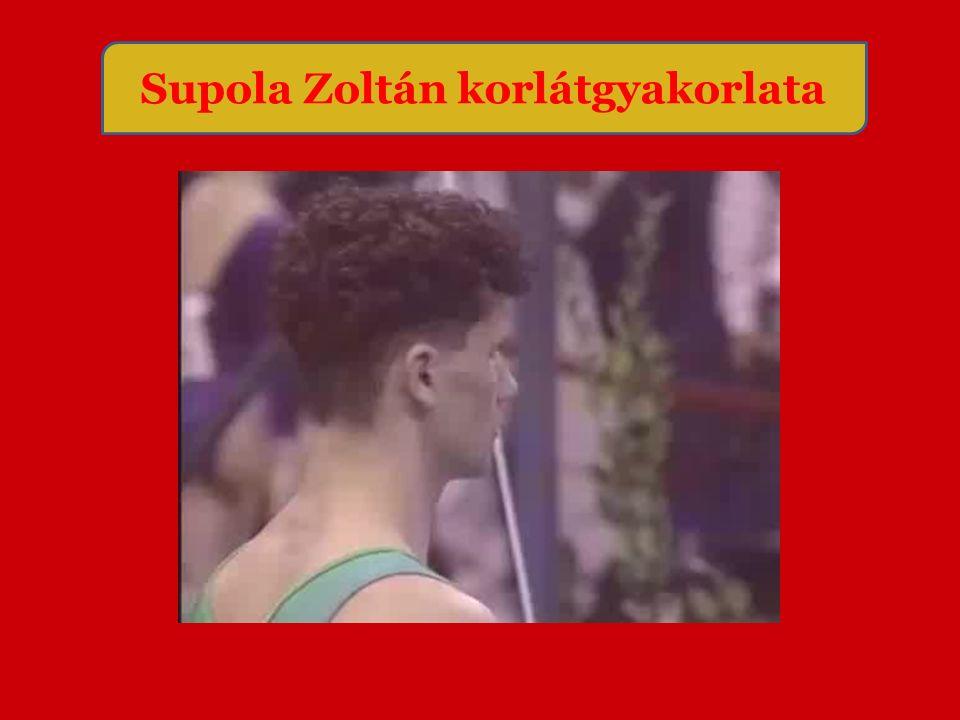 Supola Zoltán korlátgyakorlata