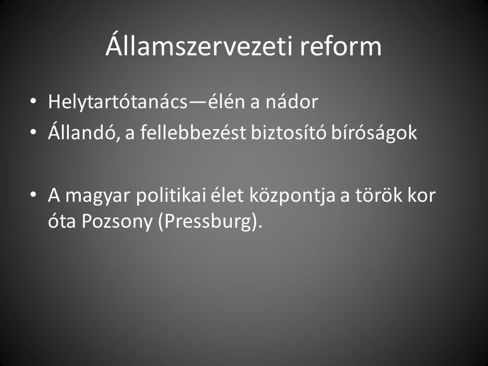 II.Lipót (1790—1792) és a rendi dualizmus helyreállítása 1790/X.