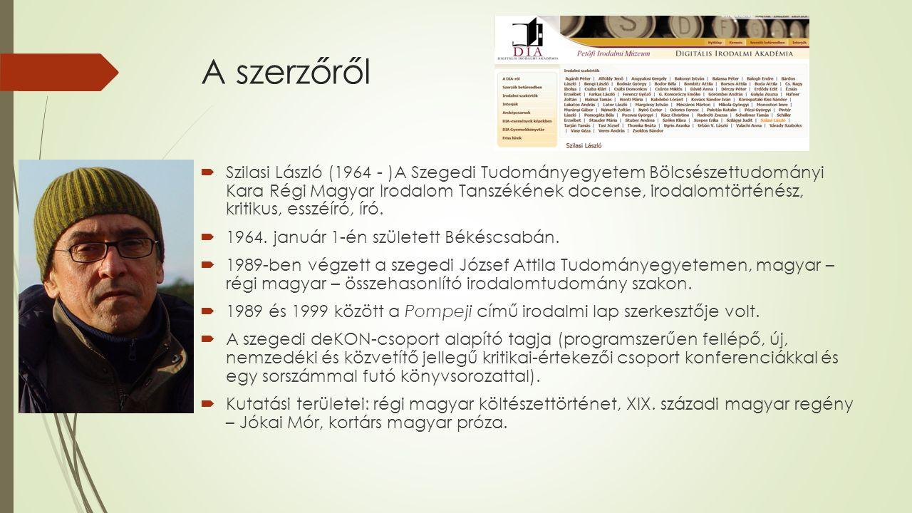 Az életműről Esszék, tanulmányok, kritikák  Miért engedjük át az ácsnak az építkezés örömét, JAK–Pesti Szalon, 1994.