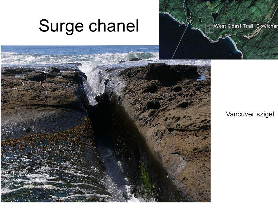 Surge chanel Vancuver sziget