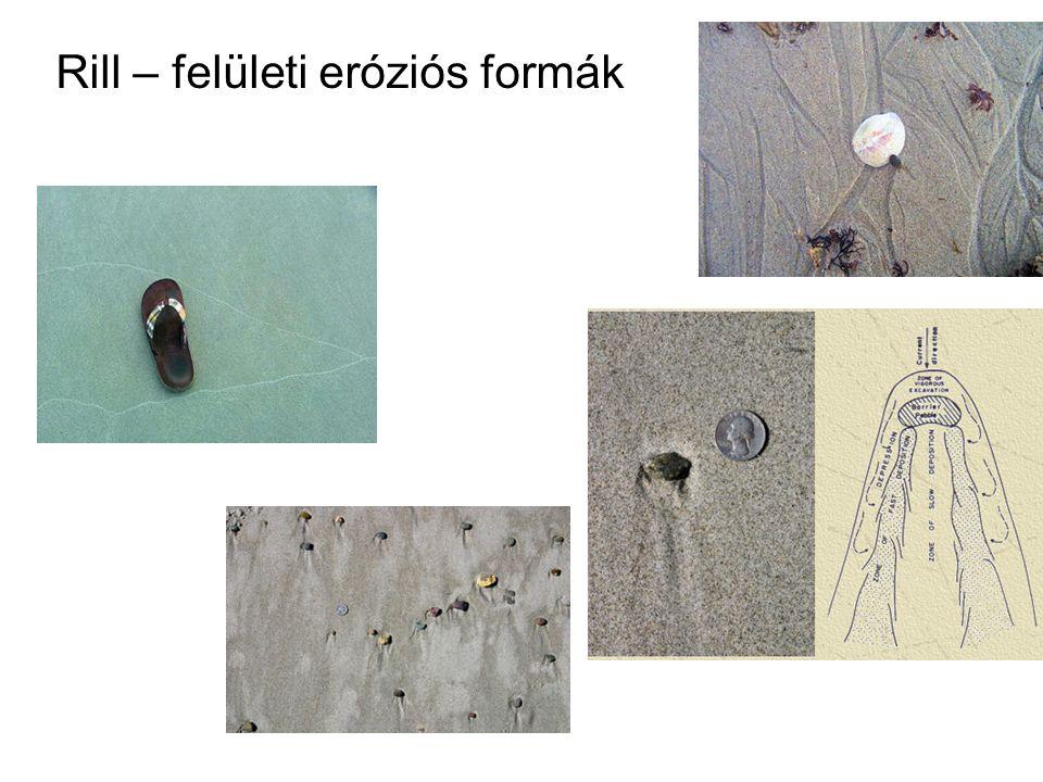 Rill – felületi eróziós formák