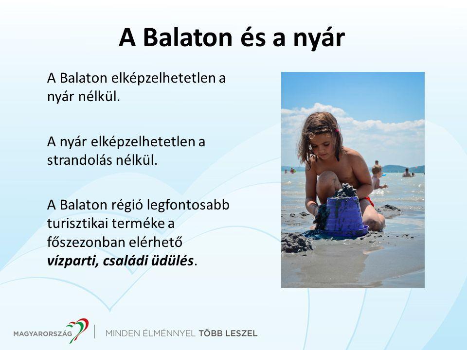 A Balaton és a nyár A Balaton elképzelhetetlen a nyár nélkül.