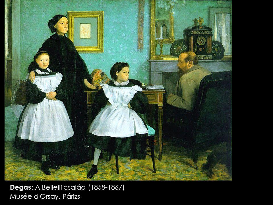 Degas : A Bellelli család (1858-1867) Musée d Orsay, Párizs