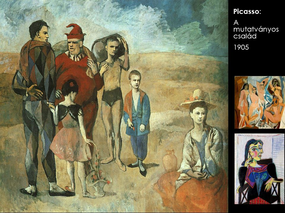 Picasso : A mutatványos család 1905