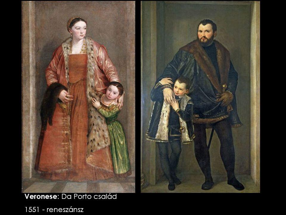 Veronese : Da Porto család 1551 - reneszánsz