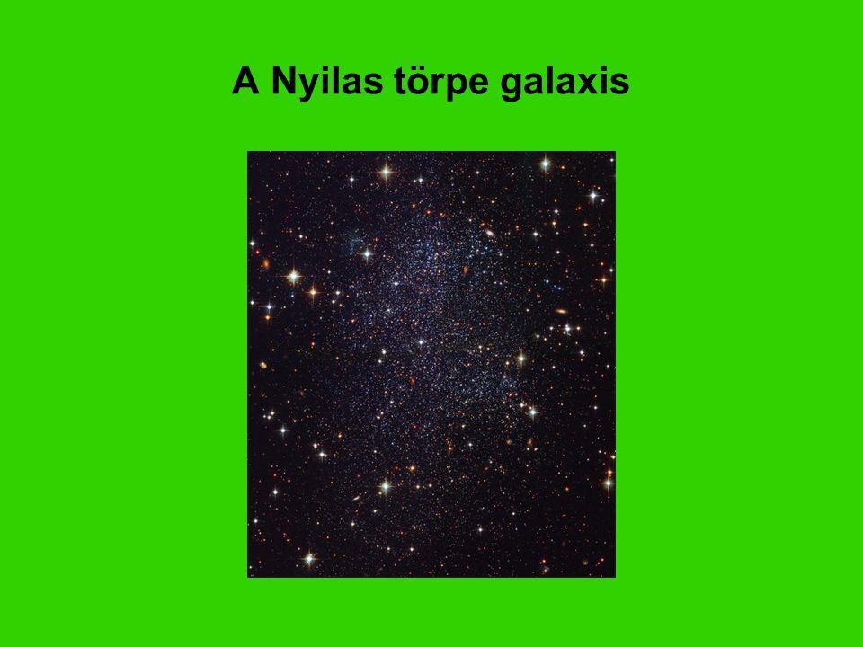 A Nyilas törpe galaxis