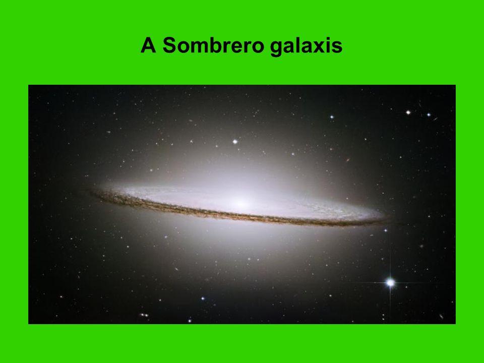 A Sombrero galaxis