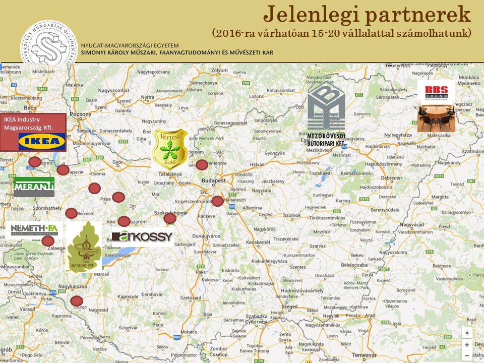 IKEA Industry Magyarország Kft. Jelenlegi partnerek (2016-ra várhatóan 15-20 vállalattal számolhatunk)