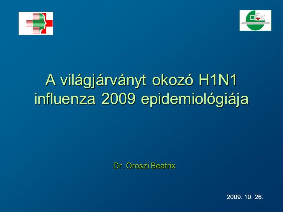 A szezonális és pandémiás influenza klinikai megjelenésének és a súlyos esetek előfordulásának összehasonlítása Tünetmentes Klinikai megbetegedés Halálos kimenetel Kórházi kezelést igényel Szezonális influenza Pandémiás H1N1 influenza 2009 Tünetmentes Klinikai megbetegedés Halálos kimenetel Kórházi kezelést igényel .