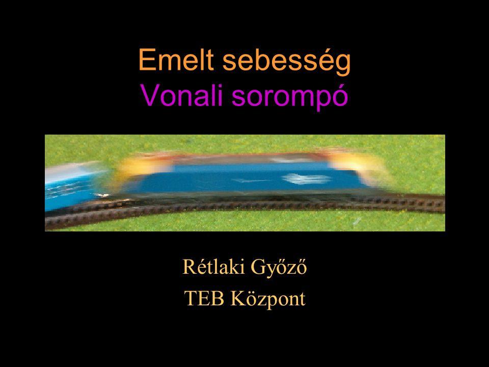 Kezelés - visszajelentés Vonat által csukott helyzet A villogó szakító félperiódusában a K a nagyellenállású tekercsről tart (hiba áram).