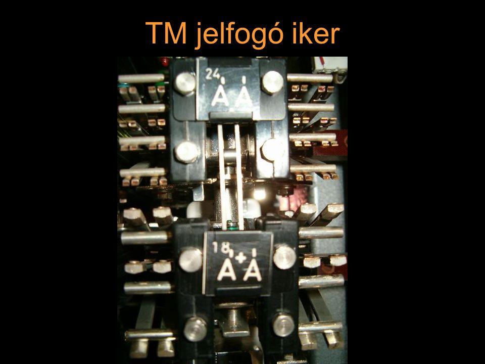 Rétlaki Győző: D70 szerkezeti elemek TM jelfogó iker