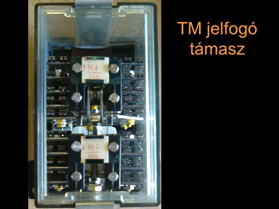 Rétlaki Győző: D70 szerkezeti elemek TM jelfogó támasz