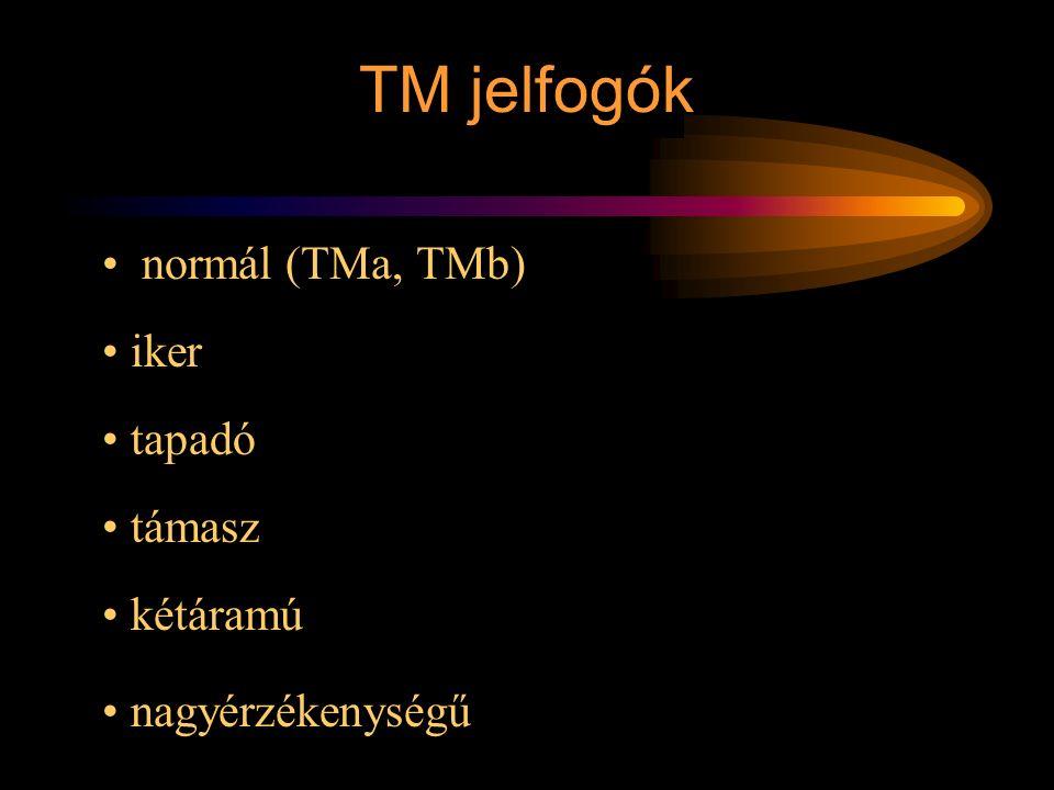 Rétlaki Győző: D70 szerkezeti elemek normál (TMa, TMb) iker tapadó támasz kétáramú nagyérzékenységű TM jelfogók