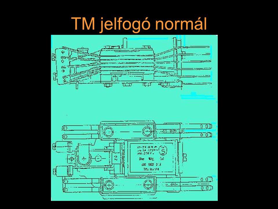 TM jelfogó kétáramú 4 - 10 érintkező (normál, hasított, 2 pogácsa) 2 tekercses cséve csak akkor húz meg, ha mindkét cséve egyidejűleg kap gerjesztést (MK) a tekercsei tartósan gerjesztett állapotban maradhatnak