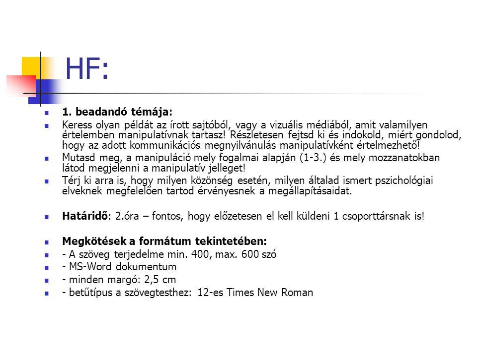 HF: 1.