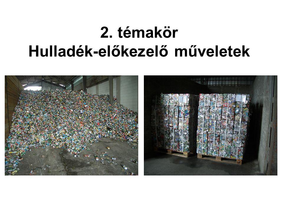 3. témakör A települési szilárd hulladék termikus ártalmatlanítása