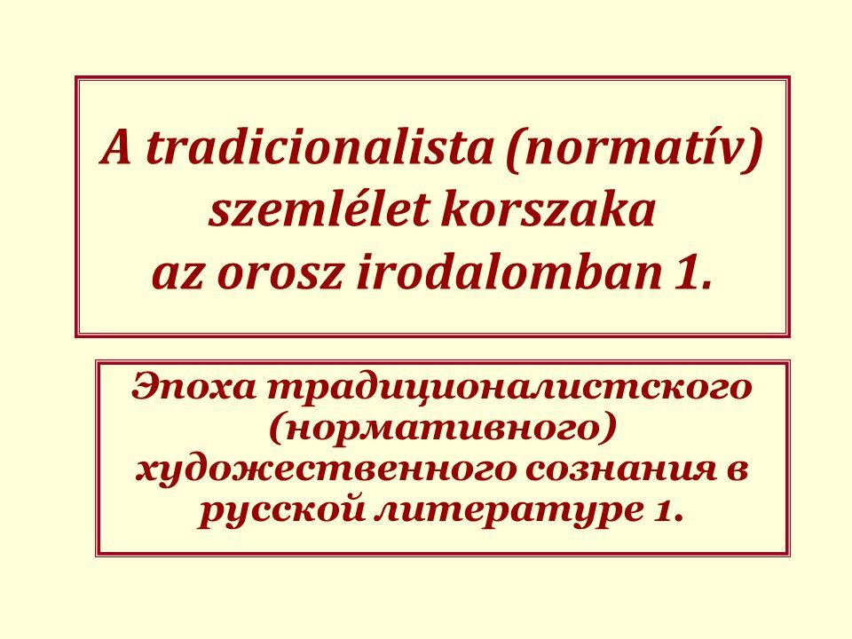 A közös egyházi szláv irodalom műfajai I.