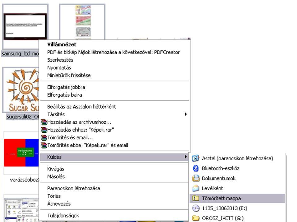   A Winrar-t a Start menü -> Minden program -> Winrar mappából lehet elindítani  Vagy a tömörített állomány megnyitásával.