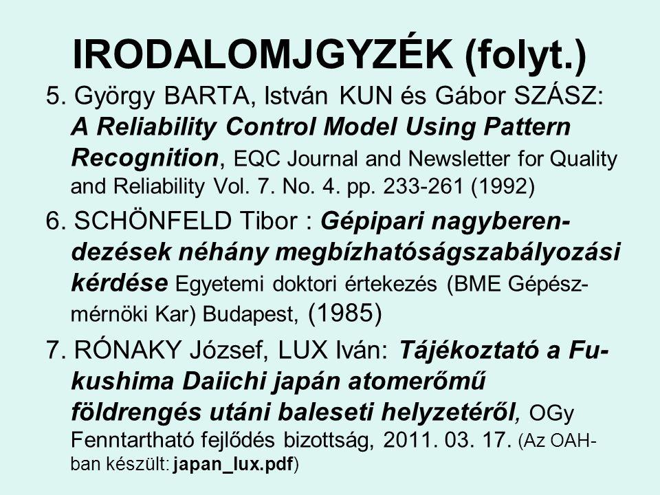 IRODALOMJGYZÉK (folyt.) 5.