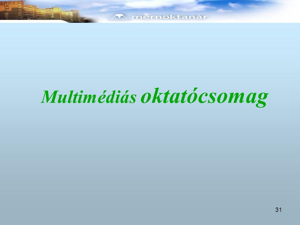 Multimédiás oktatócsomag 31