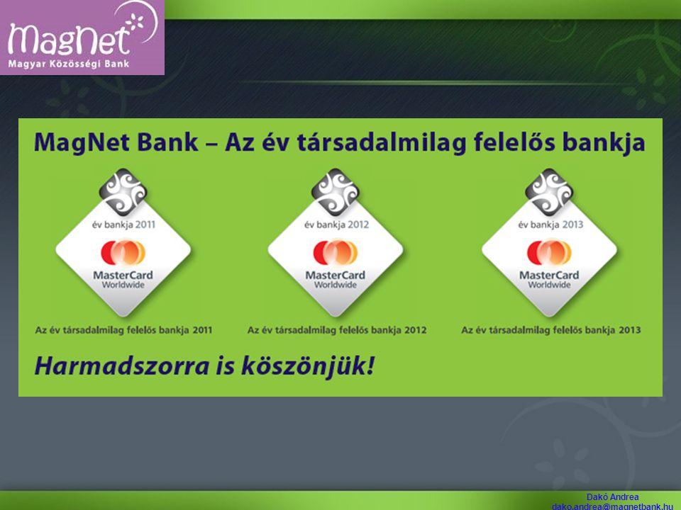Dakó Andrea dako.andrea@magnetbank.hu